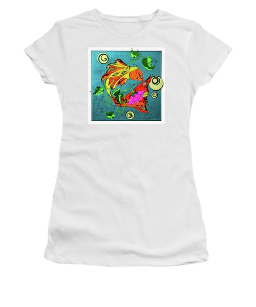 Fantasy Fish Women's T-Shirt (Athletic Fit)