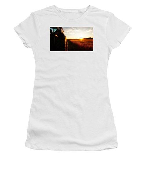 Farming Until Sunset Women's T-Shirt