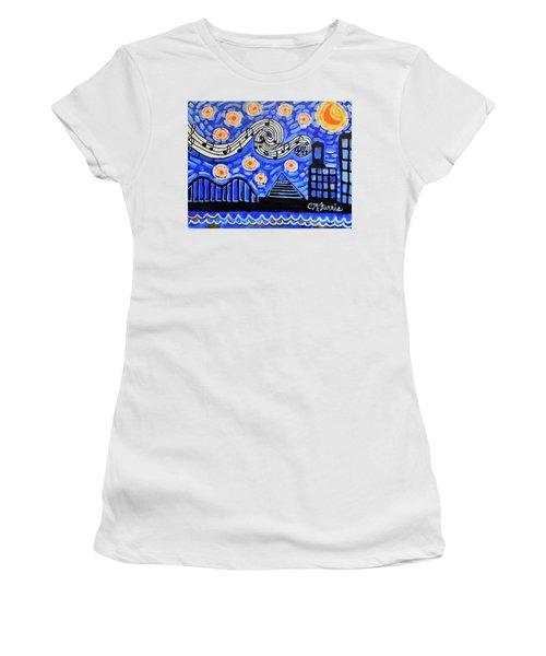Memphis Nights Women's T-Shirt