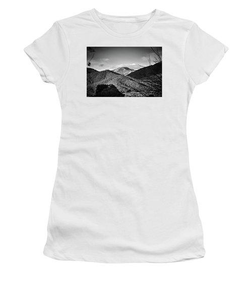 Feathertop Women's T-Shirt (Junior Cut) by Mark Lucey