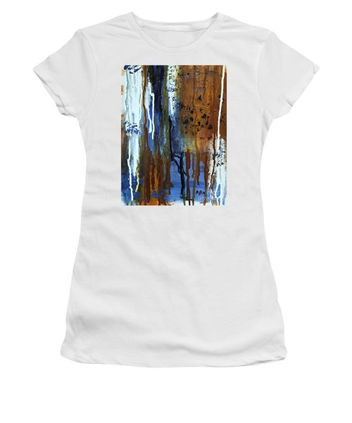 February Rain Women's T-Shirt (Athletic Fit)