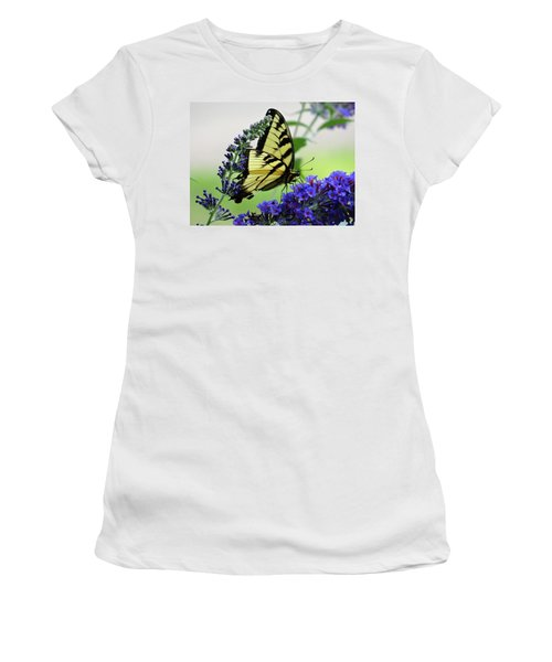 Feeding From A Nectar Plant Women's T-Shirt