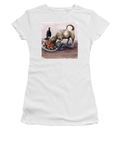 Feeding Time Women's T-Shirt