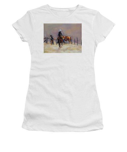 Fenceline Women's T-Shirt (Athletic Fit)