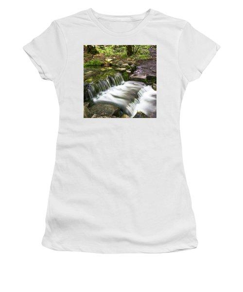 Fern Spring 4 Women's T-Shirt (Junior Cut) by Ryan Weddle