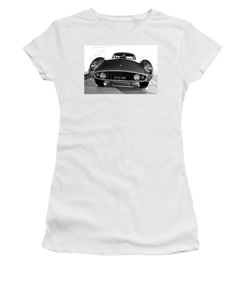 Ferrari Classic 2 Women's T-Shirt (Athletic Fit)