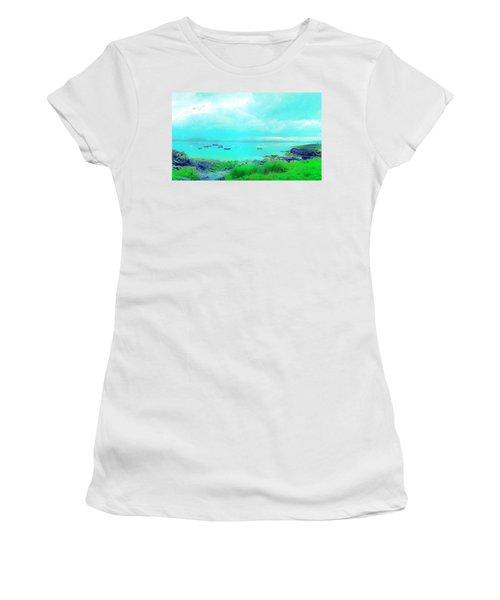 Ferry Wake Women's T-Shirt (Junior Cut)