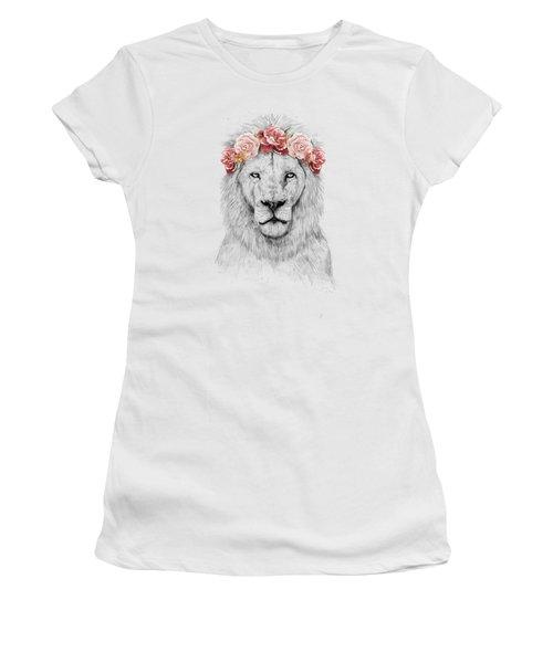 Festival Lion Women's T-Shirt (Athletic Fit)