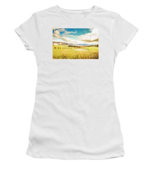 Fields Of Plenty Women's T-Shirt