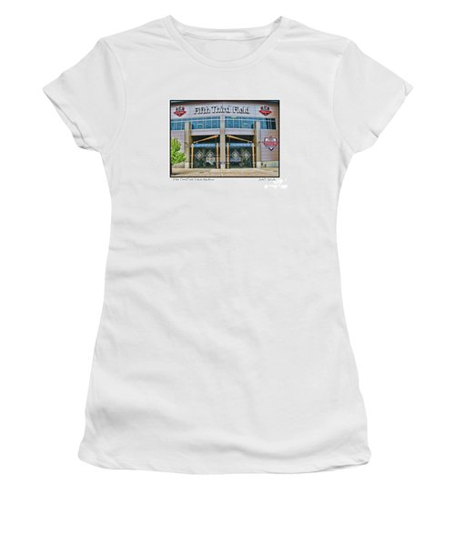 Fifth Third Field Toledo Mudhens Women's T-Shirt (Athletic Fit)