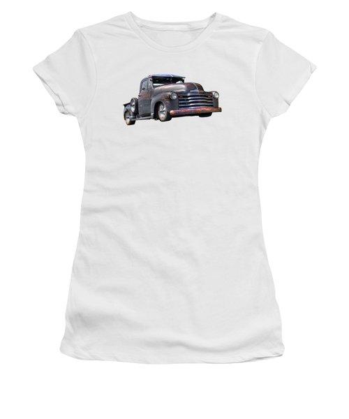 Fifties Rust - 1951 Chevy Women's T-Shirt