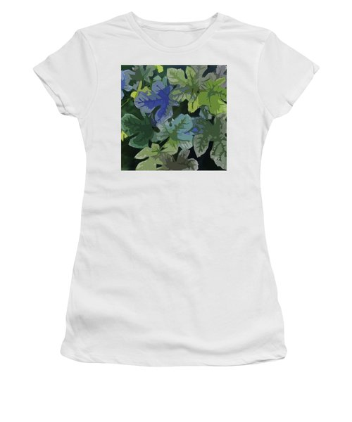 Fig Leaves Women's T-Shirt (Athletic Fit)