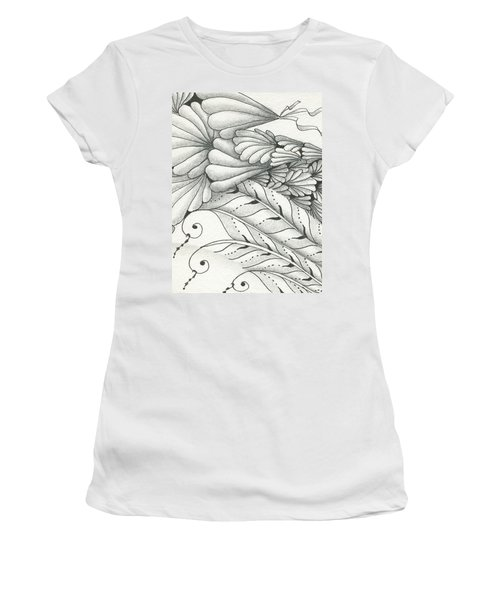 Finery Women's T-Shirt (Junior Cut) by Jan Steinle