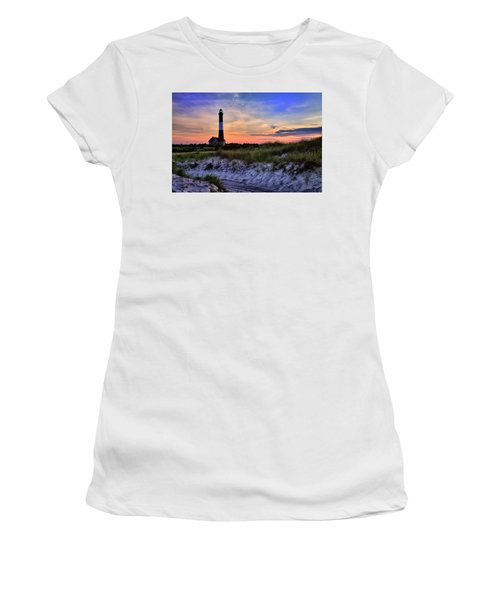 Fire Island Lighthouse Women's T-Shirt (Athletic Fit)