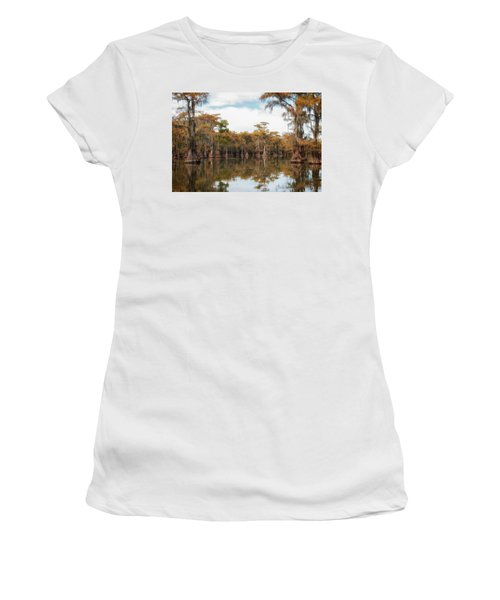 Fire Moss  Women's T-Shirt (Athletic Fit)