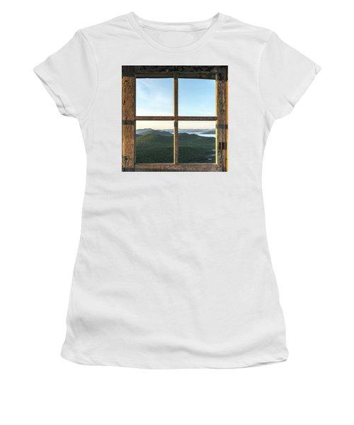 Fire Tower Frame Women's T-Shirt