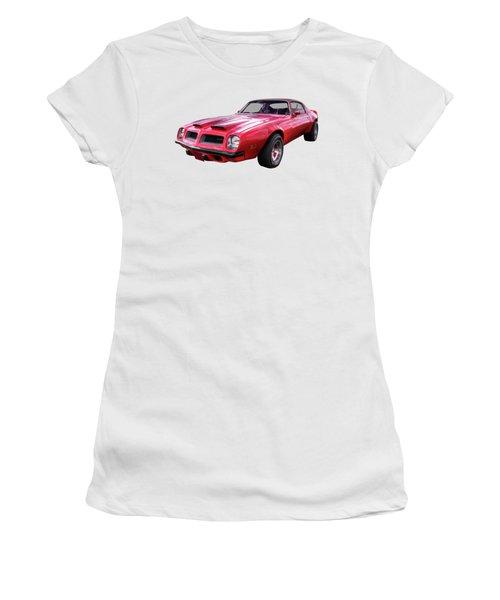 Firebird With Fire In The Sky Women's T-Shirt