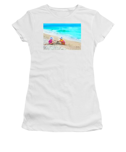First Sand Castle Women's T-Shirt