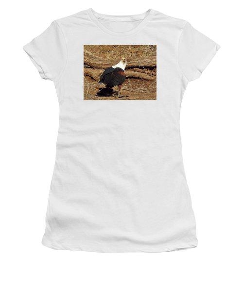 Fish Eagle Women's T-Shirt (Athletic Fit)