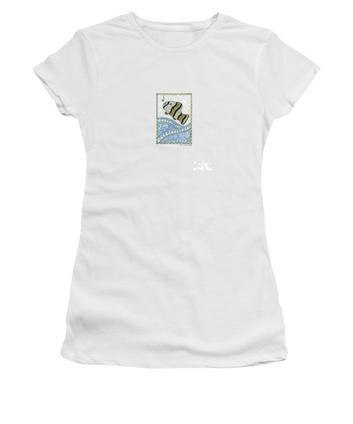 Fish In The Sea Women's T-Shirt (Athletic Fit)