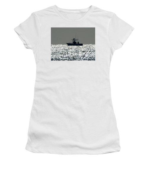 Fishing In Sanibel Women's T-Shirt (Athletic Fit)