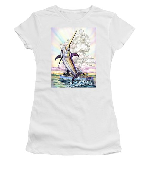 Fishing Swordfish Women's T-Shirt