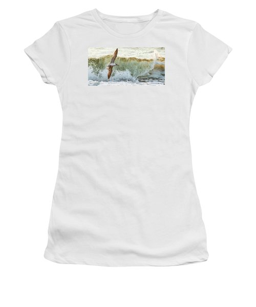 Fishing The Surf Women's T-Shirt (Athletic Fit)