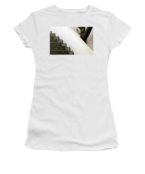 Women's T-Shirt (Junior Cut) featuring the photograph Five Steps To Glory by Prakash Ghai