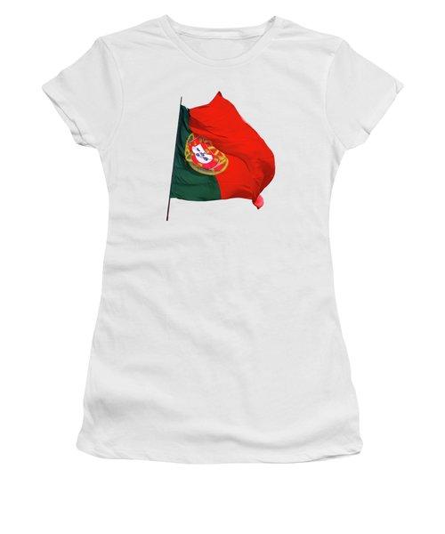Flag Of Portugal Women's T-Shirt