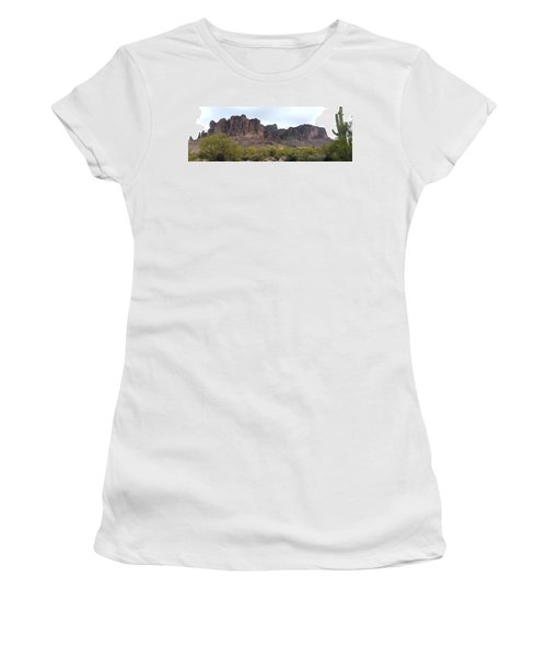 Flatiron Of The Superstition Mountains Women's T-Shirt