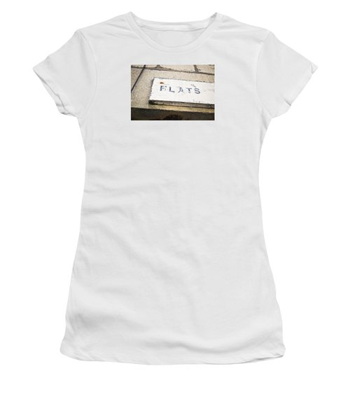 Flats Sign Women's T-Shirt (Athletic Fit)