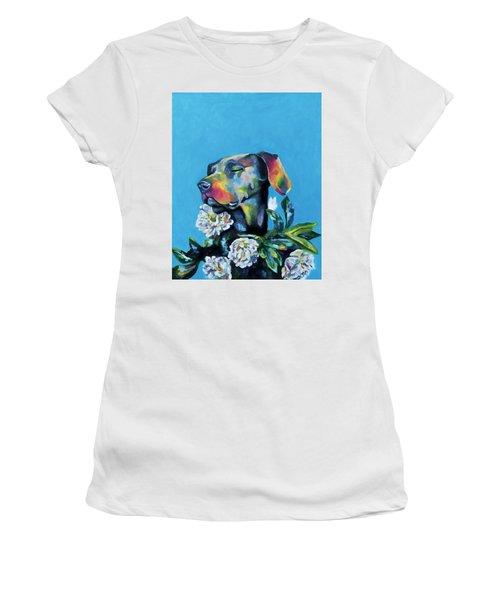 Fleur's Moment Women's T-Shirt (Junior Cut) by Arleana Holtzmann