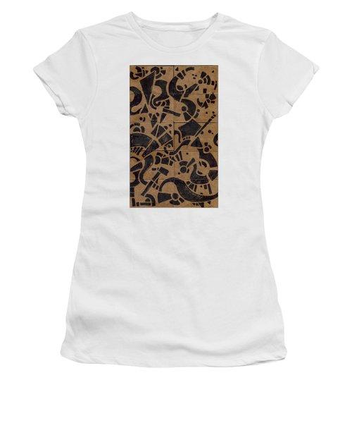 Flipside 1 Panel E Women's T-Shirt