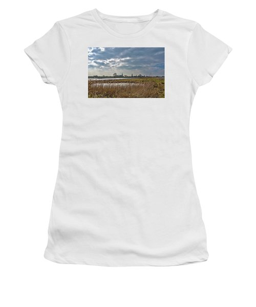 Floodplains Near Culemborg Women's T-Shirt (Athletic Fit)