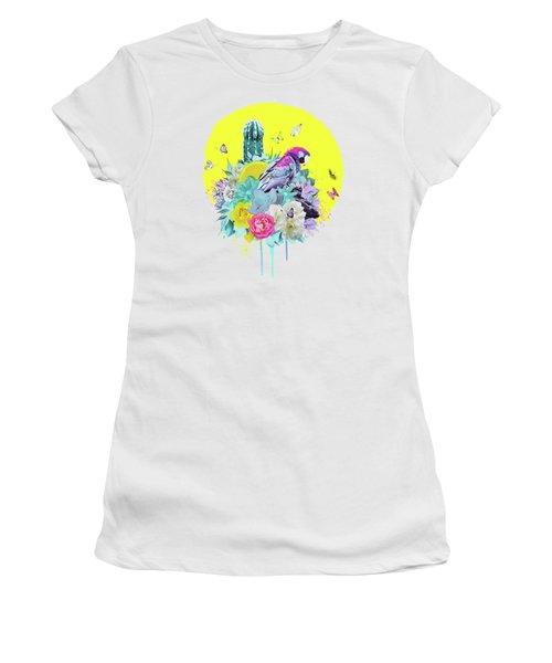Floral Ara Women's T-Shirt