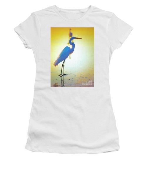 Florida Atlantic Beach Ocean Birds  Women's T-Shirt