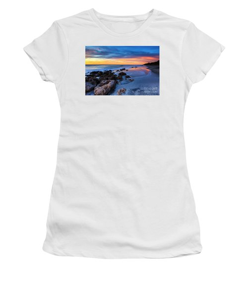 Florida Beach Sunset 3 Women's T-Shirt