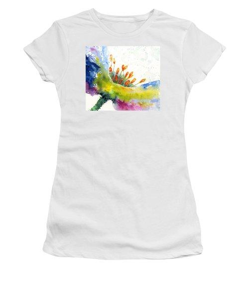Flower 1 Women's T-Shirt (Athletic Fit)