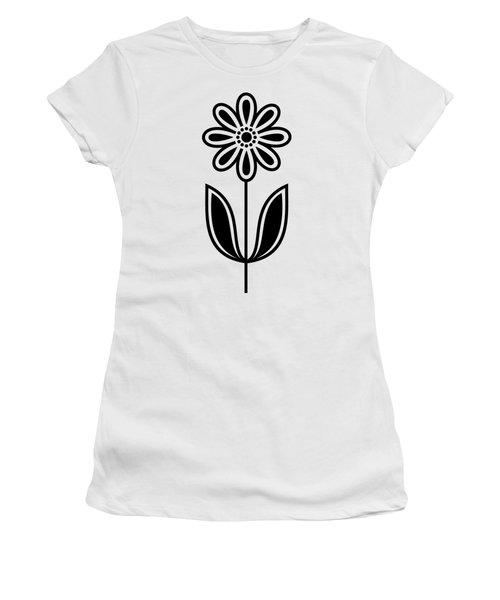 Flower 1 Transparent Women's T-Shirt (Athletic Fit)