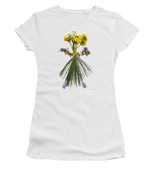 Flower Head Women's T-Shirt (Athletic Fit)