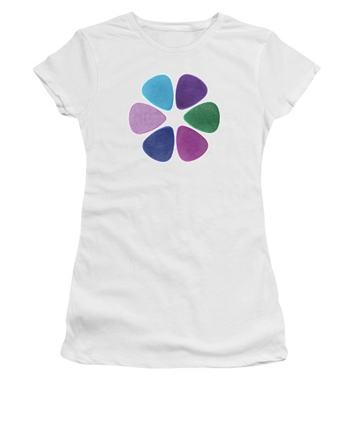 Flower Made Of Guitar Picks Women's T-Shirt