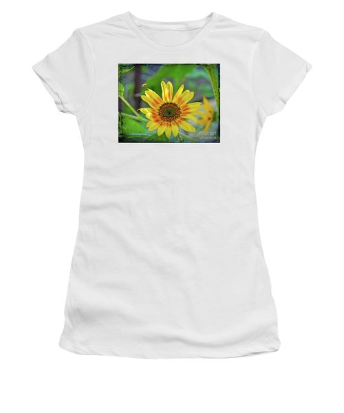 Women's T-Shirt (Athletic Fit) featuring the photograph Flower Of The Sun by Kerri Farley