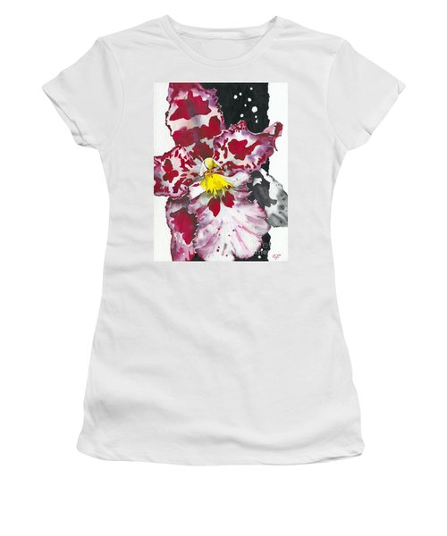 Flower Orchid 11 Elena Yakubovich Women's T-Shirt (Athletic Fit)