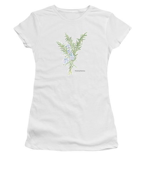 Flowering Rosemary Women's T-Shirt