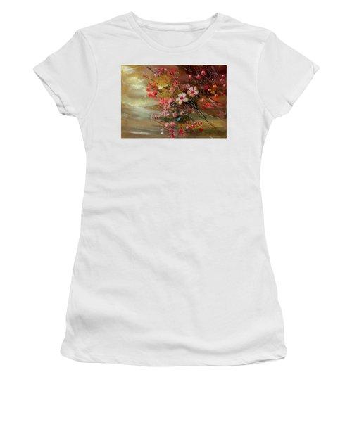Flowers 2 Women's T-Shirt (Athletic Fit)