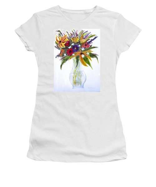 Flowers For An Occasion Women's T-Shirt (Athletic Fit)
