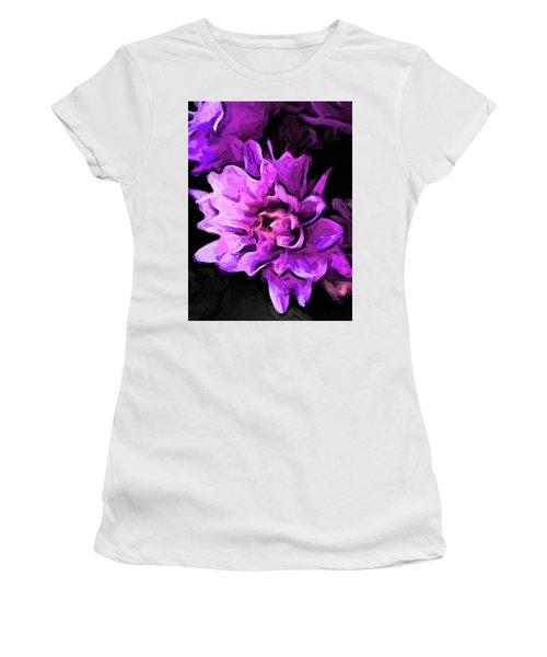 Flowers Of Lavender And Pink 1 Women's T-Shirt (Athletic Fit)