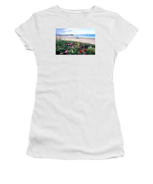 Flowers Of Manhattan Beach Women's T-Shirt (Athletic Fit)