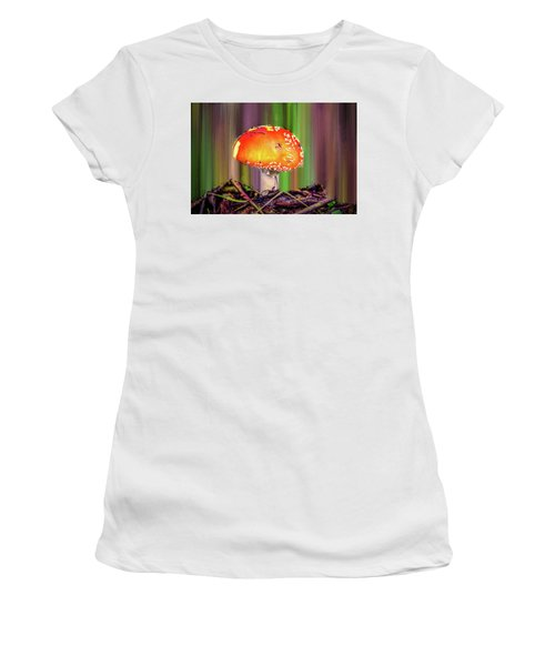 Fly Agaric #g7 Women's T-Shirt (Athletic Fit)