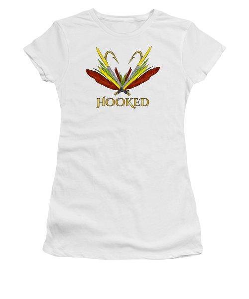 Fly Fishing Women's T-Shirt (Junior Cut) by Devon LeBoutillier